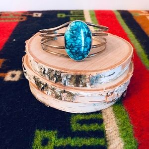 Jewelry - Turquoise/sterling silver cuff